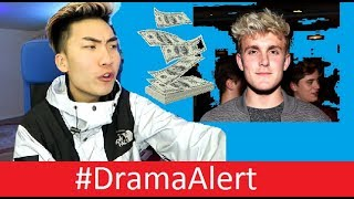Jake Paul TAKES RiceGum's YouTube Money! #DramaAlert KSI Returns! Vidcon Responds!