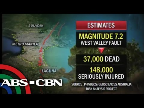 Manila, QC may suffer most in case of a strong quake