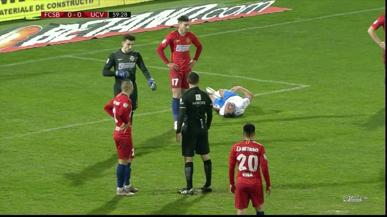 REZUMAT: FCSB - Universitatea Craiova 0-0. Penalty ratat la Giurgiu
