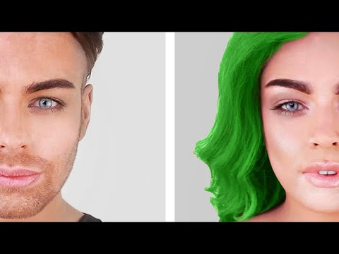 FACIAL FEMINISATION WITH ONLY MAKEUP - MALE TO FEMALE TRANSGENDER RESULTS from YouTube · Duration:  20 minutes 4 seconds