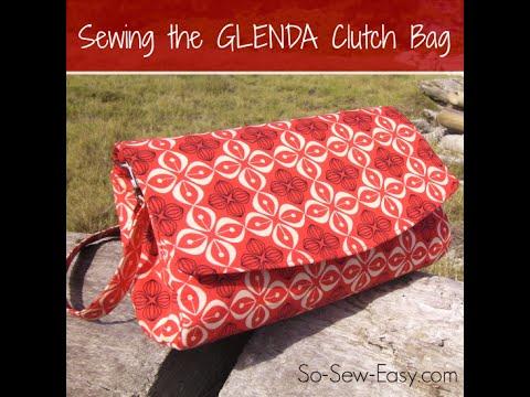 Swoon Patterns Glenda Bag instructions - YouTube
