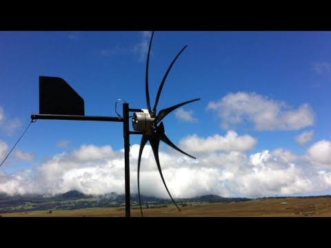 Living Off Grid The Real Deal Home Wind Turbine Solar Hawaii