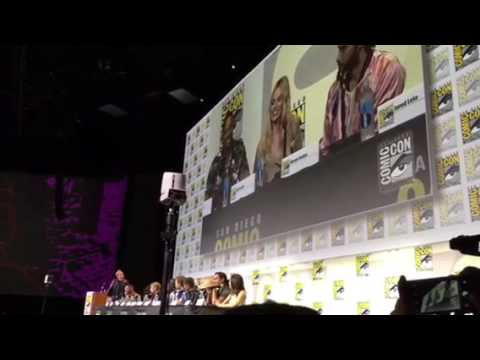 Will Smith Tells Margo Robbie Jared Leto Suicide Squad Story #SDCC