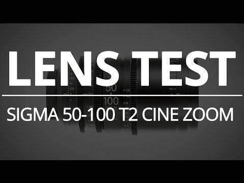 Sigma 50-100 T2 Cine Zoom - Lens Test