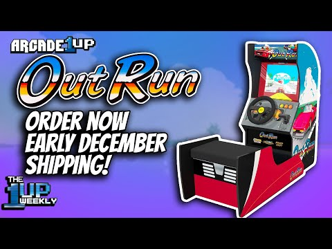 The 1up Weekly - Arcade1up Outrun Seated Arcade now available for PREORDER! | News Update from The1upWeekly