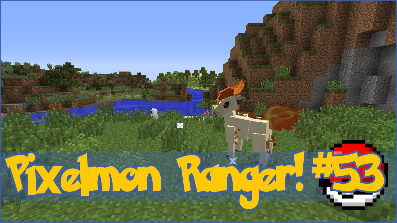 Pixelmon Ranger! Vulpix Help in the Kitchen! - Episode #53 - YouTube