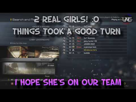 Hot Gamer Girl TROLLING on Call of Duty!