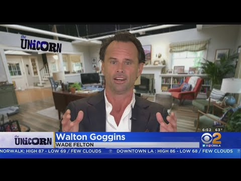 Walton Goggins Plays Widowed Father Of 2 Girls In 'The Unicorn'