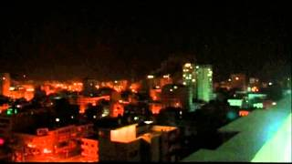 Raw: Airstrikes Hit Gaza Overnight