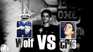 Red Bull BC One Cypher Morocco 2014 - Wolf vs Cri6