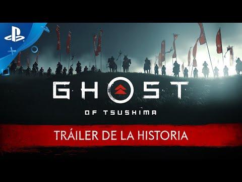 Ghost of Tsushima - Tráiler de la HISTORIA en ESPAÑOL y fecha de LANZAMIENTO | PlayStation España