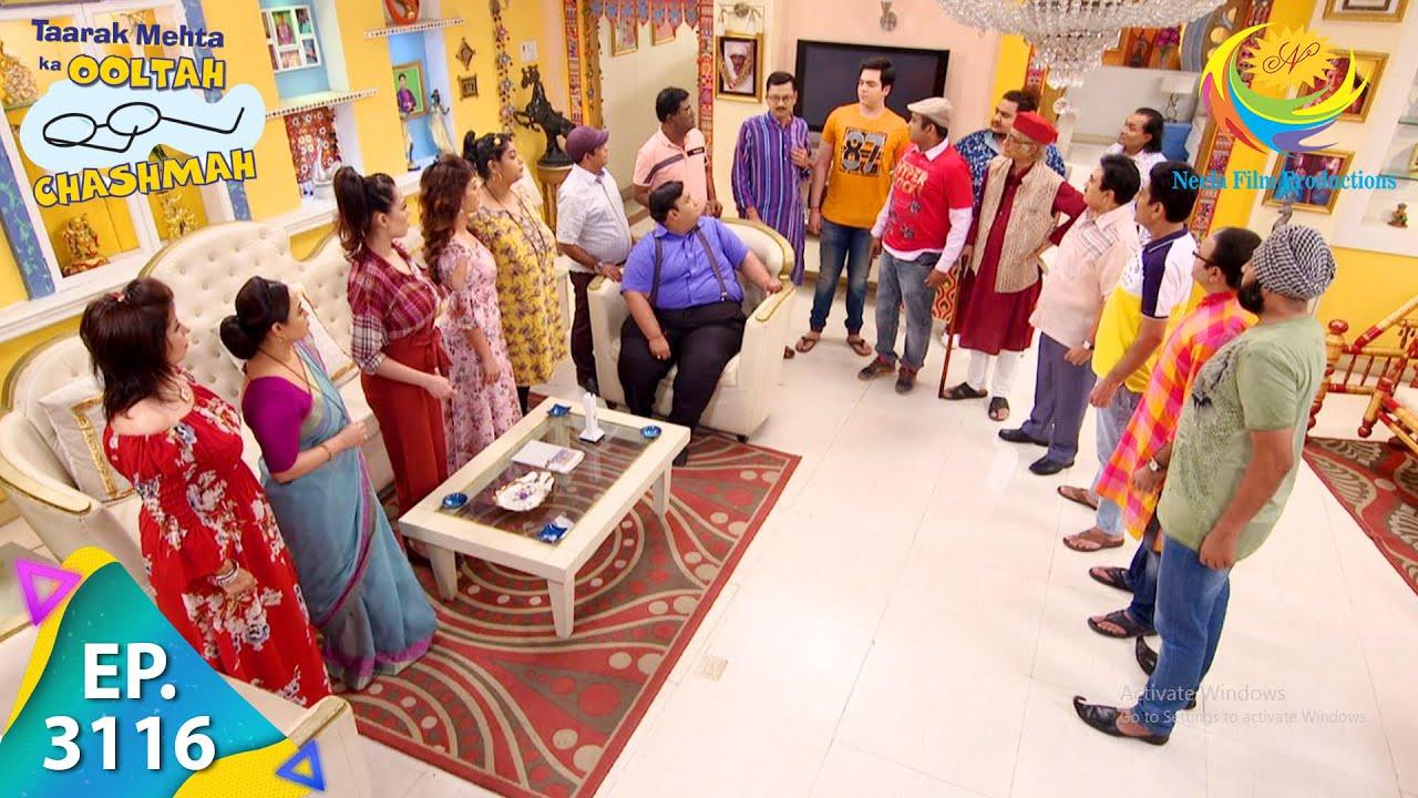 Download Taarak Mehta Ka Ooltah Chashmah - Ep 3116 - Full Episode - 5th March, 2021