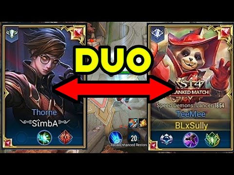 Teemee + Ad Thorn Jungle Pro Strategy In New Meta | AoV | RoV |seluler | arena ng lakas mg loob