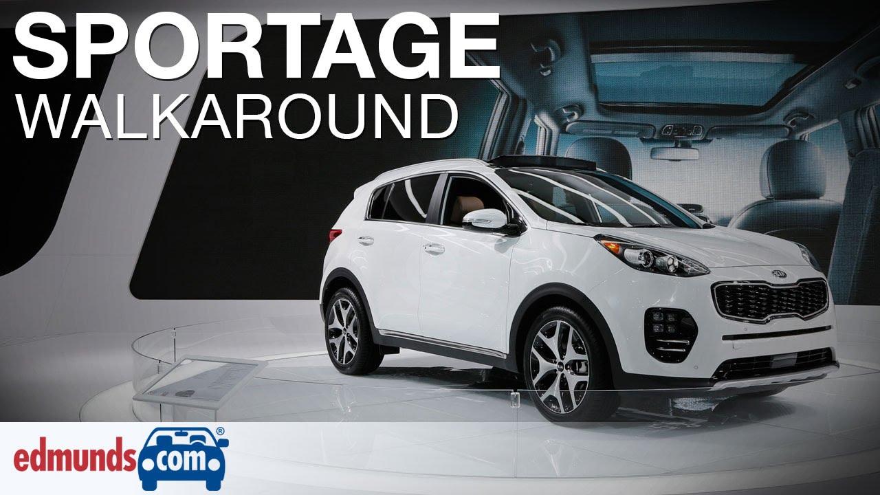 Elegant 2017 Kia Sportage Walkaround Review  Los Angeles Auto