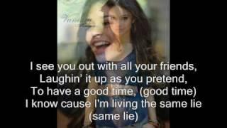 Come Back to Me (with lyrics) - Vanessa Hudgens
