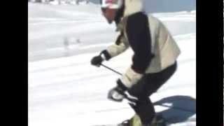 Урок 5  Видео как научиться кататься на горных лыжах