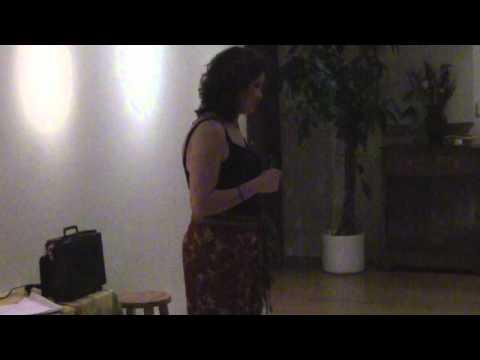 Vanda at The Cosmic Comedy Salon