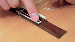 How to Restring a Classical Guitar: Tutorial