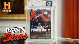 """Pawn Stars: K.O. DEAL for """"Mike Tyson's Punch-Out!!"""" Game (Season 18) 