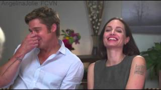 Brad Pitt and Angelina Jolie - Today Interview - By The Sea