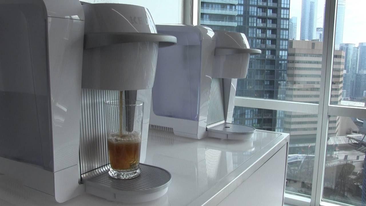 Keurig goes \'Kold\' with soda-making machine - YouTube