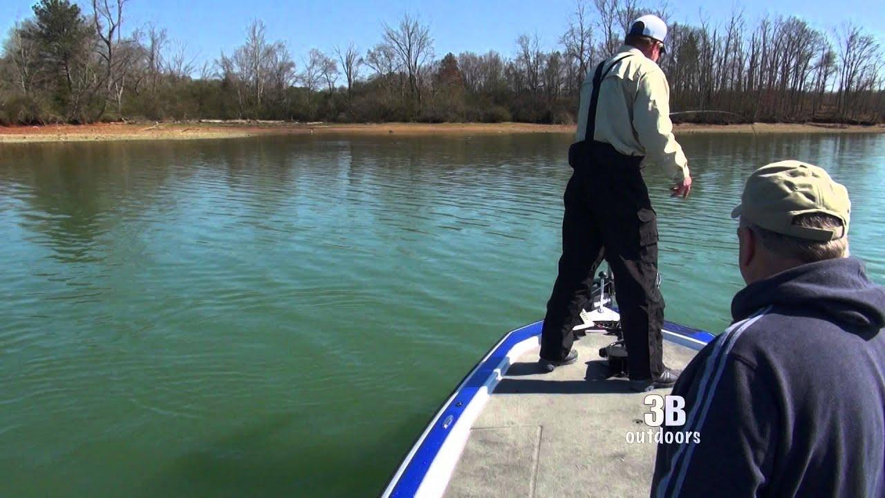 3b outdoors tv lake chickamauga tn big bass with for Lake chickamauga fishing