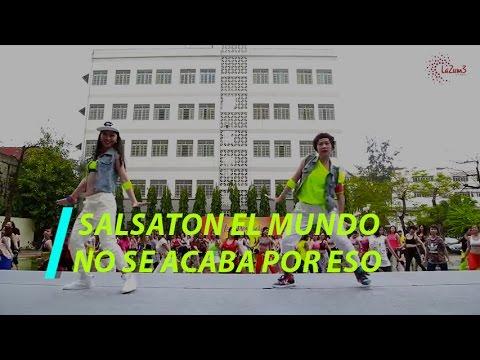 SALSATON El Mundo No Se Acaba Por Eso | Zumba Fitness Vietnam | Zumba Dance Workout | Lazum3