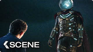 Peter and Mysterio talk about Superhero Stuff Scene - SPIDER-MAN: Far From Home (2019)