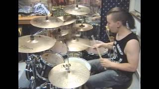 Patrik Fält - Dimmu Borgir - Allehelgens Død I Helveds Rike (Drum cover)