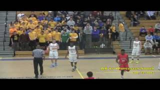 Acton Boxborough Varsity Boys Basketball vs Worcester South 2/24/14