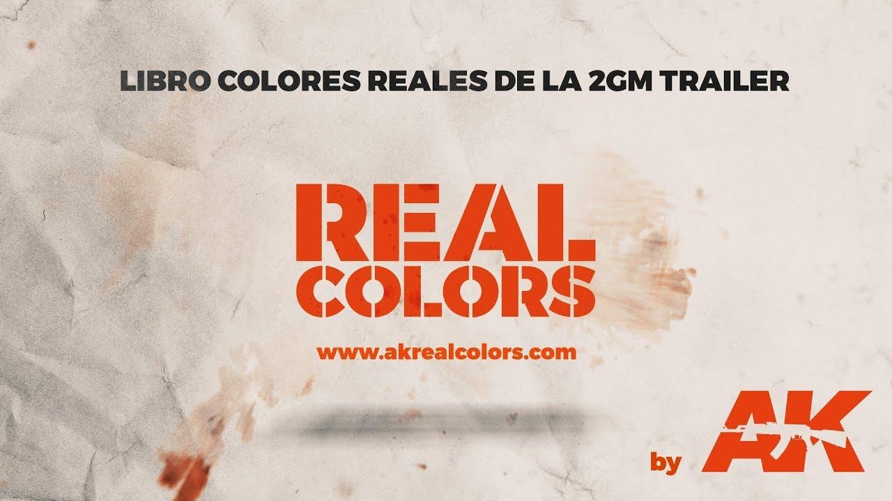 LIBRO: Colores Reales en la 2ª G.M. (TRAILER) - ||ESP|| - YouTube