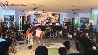 Crazy Flava vs DF Zulu - Floor Wars Brasil | Cultura Digital Produções |