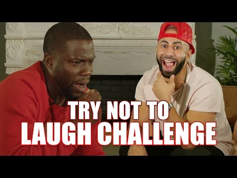 TRY NOT TO LAUGH CHALLENGE FT. KEVIN HART