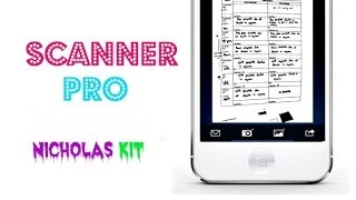 Scanner Pro by Readdle | iOS App Review Video