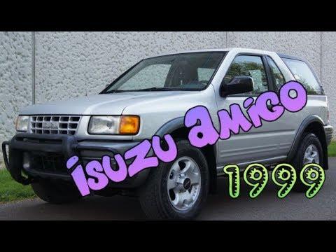 1999 Isuzu Amigo hardtop convertible 2 door SUV with removable hard top