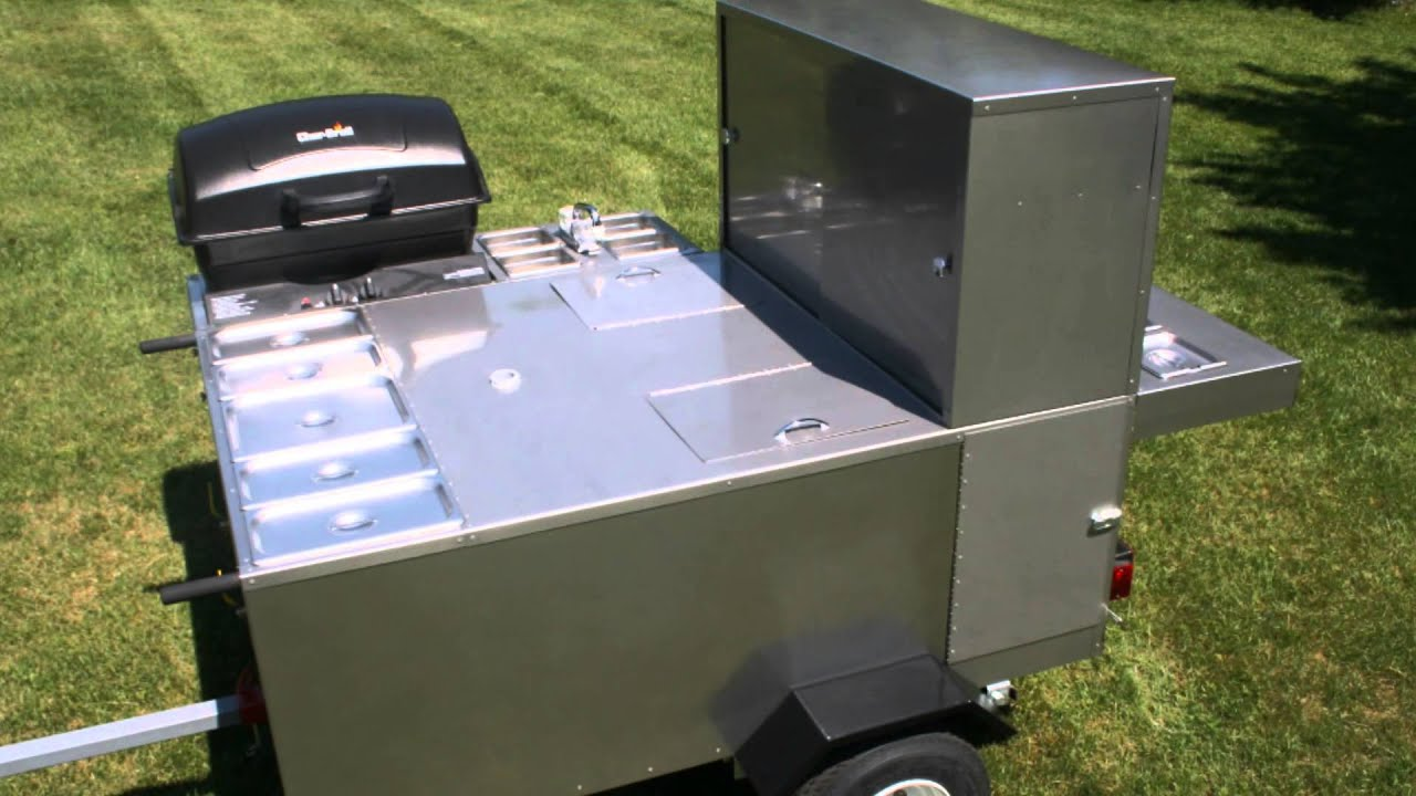Hot Dog Cart Company | Grand Master Hot Dog Cart - YouTube