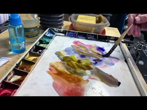 Learn To Paint Watercolors With Andy Evansen