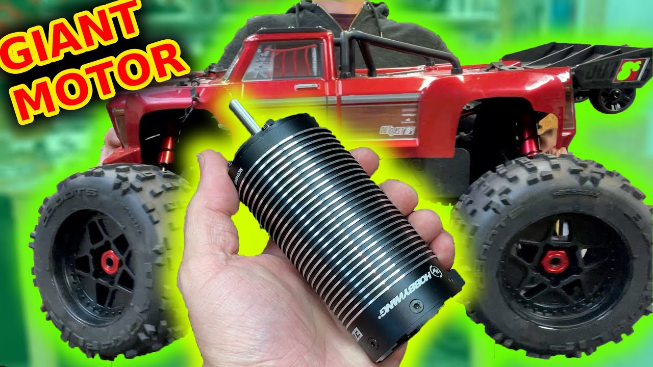 GIANT motor rc car - too BIG?