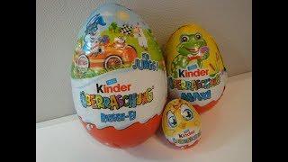 kinder Überraschung Riesen Ei Maxi Ei und Ei Ostern 2018