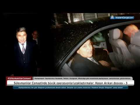 Hasan Arıkan Dosyası - 3   Süleymancılar Cemaatinde Büyük Operasyonlar/uzaklaştırmalar