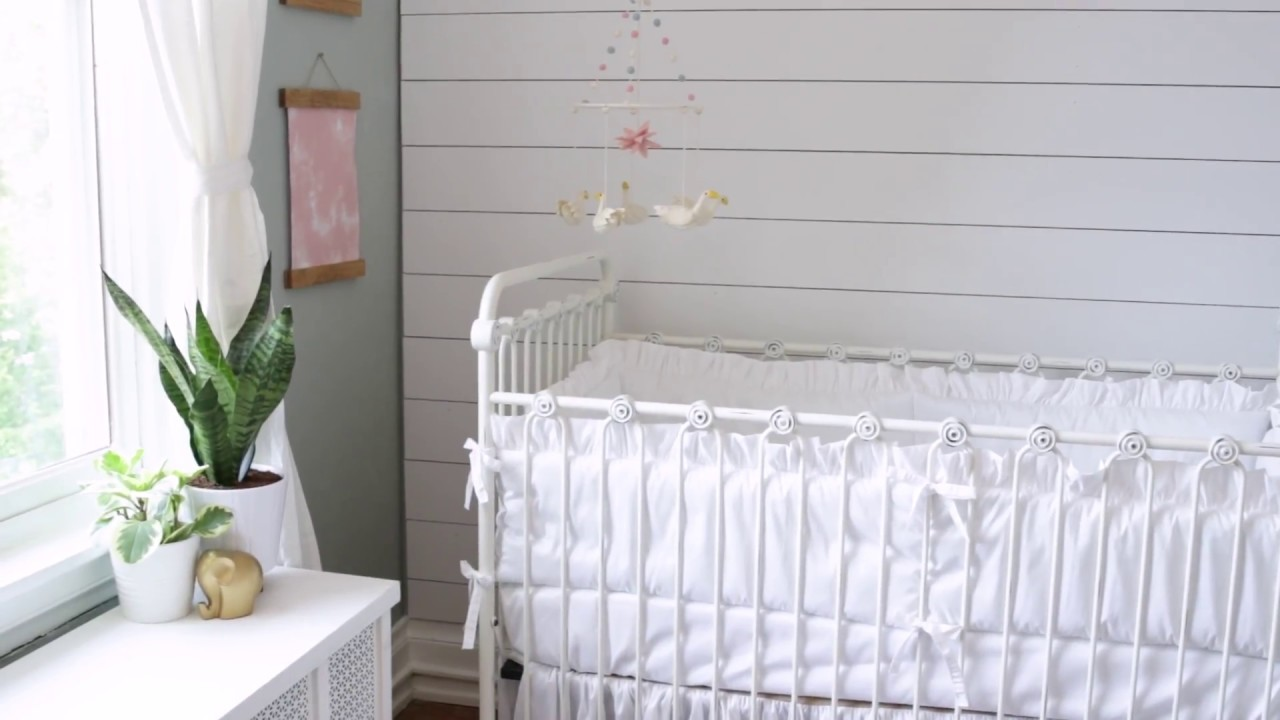 Bratt Decor Nursery Preview Featuring Our Joy Baby Crib