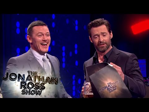 Luke Evans And Hugh Jackman's Gaston Sing Off  The Jonathan Ross