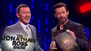 Luke Evans And Hugh Jackman