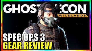 Ghost Recon Wildlands SPEC OPS 3 PATCH GEAR REVIEW