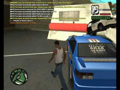GTA San Andreas Honička