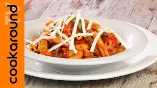 Mezzemaniche con verdurine spadellate / Ricetta vegetariana