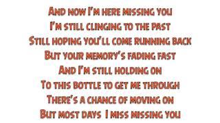 Casey Donahew Band - Missing You (Lyrics)