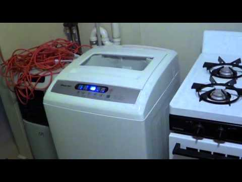 Geekhouse Laundry With The Magic Chef Portable Washer