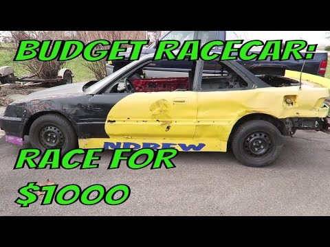 Budget Wheel 2 Wheel Racecar: Building A Racecar For Under $1000