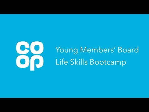 Co-op Young Members' Board Life Skills Bootcamp
